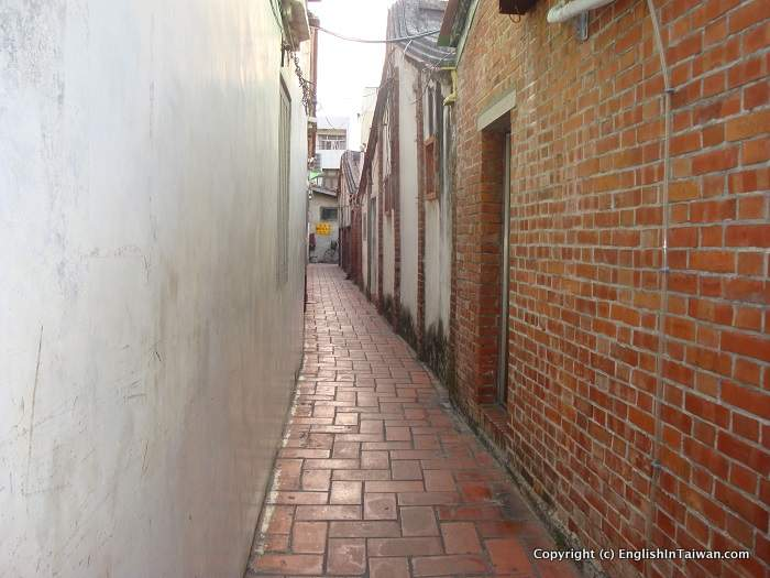 Lugang Taiwan Old Street and Alleys