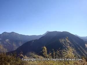 Jade mountain front peak the top
